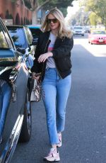 Kate Upton Leaving a hair salon in Beverly Hills