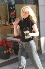 Kathryn Newton Goes Christmas shopping in Beverly Hills