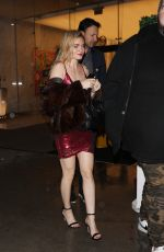 Katie Cherry Leaving Bootsy Bellows night club with mystery man in West Hollywood