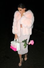 Katie Price aka Jordan returning from a Boxing day night out on the tiles