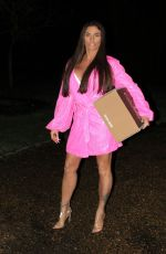 Katie Price At Night out in London