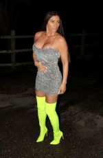 Katie Price Going out for the evening in Chelsea
