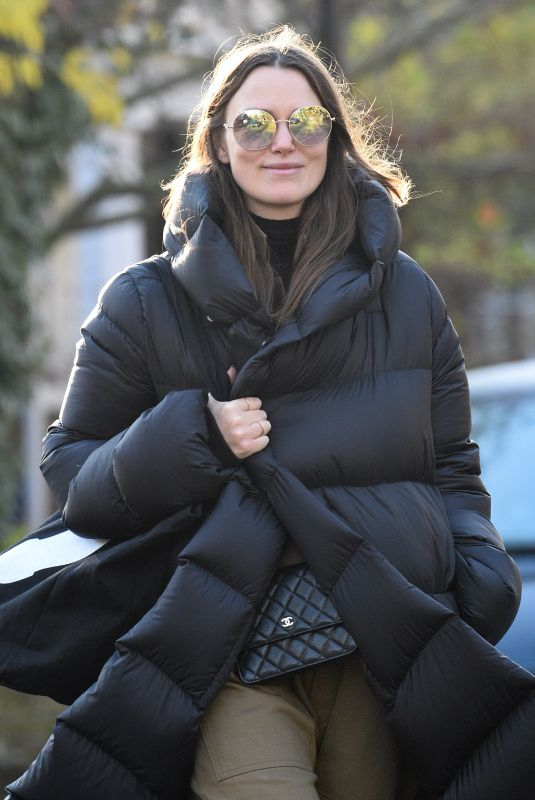 Keira Knightley Out in London