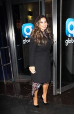 Kelly Brook Shows off new hair exits Heart Radio afternoon show