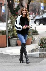 Kelly Killoren Bensimon Doing a Photoshoot in the West Village Section of NYC