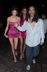Kendall Jenner Arrives at LIV Miami in Miami