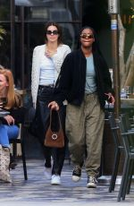 Kendall Jenner & Justine Skye Out for lunch in West Hollywood