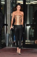 Kendall Jenner Out for Dinner at Milos in Miami Beach