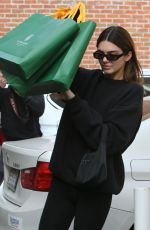 Kendall Jenner Shopping at Goyard in Beverly Hills