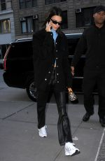 Kendall Jenner With a petit Louis Vuitton purse, out and about in NYC