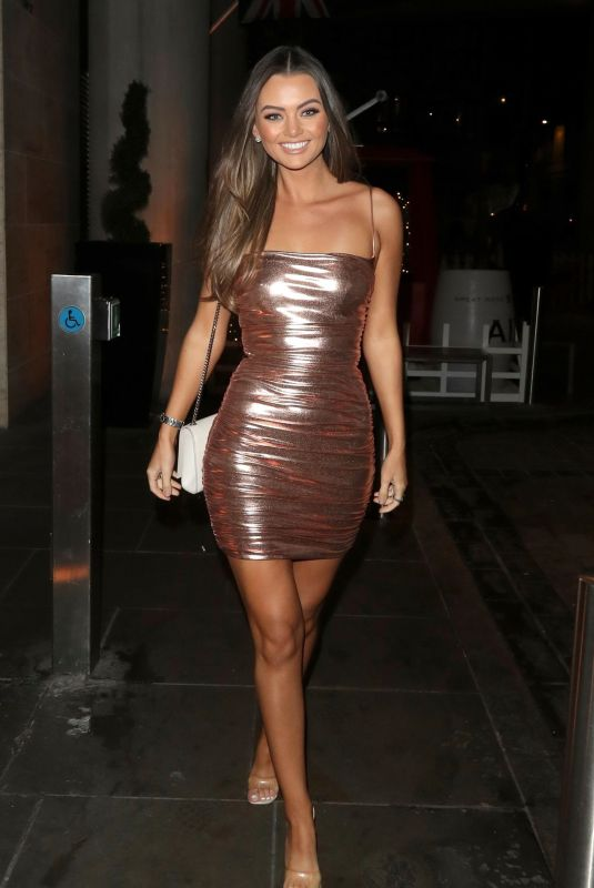 Kendall Rae Knight At Off Limits Entertainment Christmas party in London