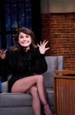 Keri Russell At Late Night with Seth Meyers in New York City
