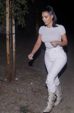 Kim Kardashian Heading Out For Dinner In Los Angeles