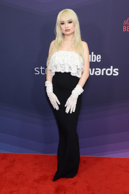 Kim Petras At Streamy Awards, Arrivals, The Beverly Hilton, Los Angeles