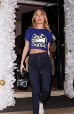 Kimberley Garner Outside Annabel