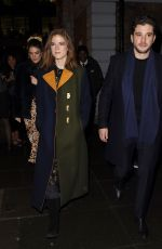 Kit Harington and Rose Leslie Leaving the MS Society