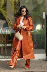 Kourtney Kardashian Seen enjoying lunch at Rosti Cafe and then taking the kids to paint pottery at Color Me Mine in Calabasas