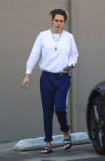 Kristen Stewart Exiting a nail spa in Hollywood