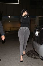 Kylie Jenner Arrives at the Nice Guy in West Hollywood