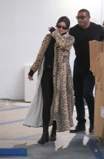 Kylie Jenner Goes Christmas shopping at Moncler in Beverly Hills
