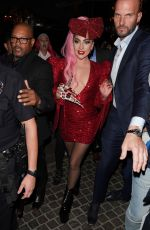 Lady Gaga Arrives at her Haus Labs Makeup Pop Up launch at The Grove