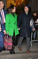 Lea Michele and spouse Zandy Reich hold hands while out in NYC
