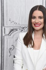 Lea Michele At Build Series in New York City