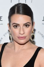 Lea Michele At New York Stage & Film 2019 Winter Gala at Zeigfeld Ballroom in New York City