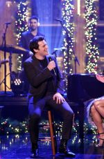 Lea Michele At The Tonight Show with Jimmy Fallon