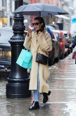 Lea Michele Out in New York