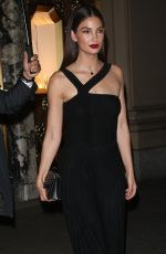 Lily Aldridge Leaves a Bulgari event in New York