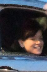 Lily Allen In Notting Hill after her bizarre election instagram message