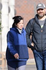 Lily Allen Out in NYC