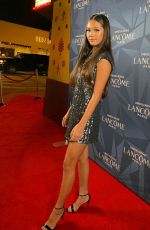 Lily Chee At Lancôme x Vogue L'Absolu Ruby Holiday Event in West Hollywood