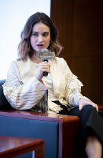 Lily James Hosts a Masterclass at 4th International Film Festival & Awards Macao in Macao