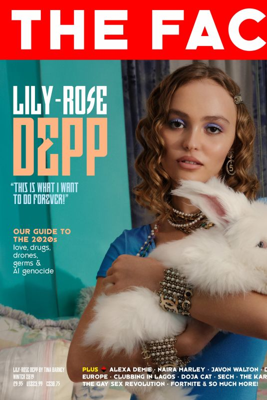Lily-Rose Depp - The Face Magazine Winter 2019