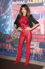 Lizzie Cundy Attends the Emma Bunton Christmas Party at Royal Albert Hall in London