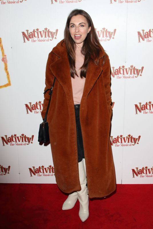 """Louisa Lytton Attends the press night performance of """"Nativity! The Musical"""" at The Eventim Apollo, Hammersmith in London"""