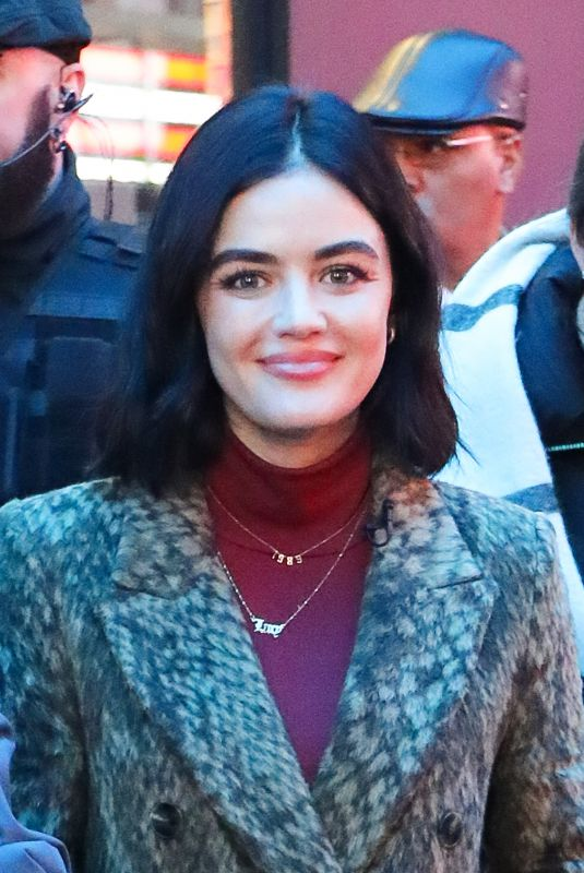 Lucy Hale Doing rehearsals for 2020 New Year
