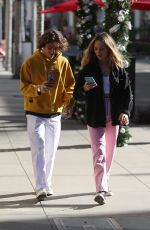 Maddie Ziegler Seen out for shopping on Rodeo drive, LA