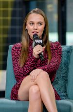 Madison Iseman At AOL Build for Jumanji: The Next Level in NY