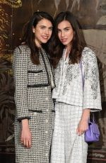 Margaret and Rainey Qualley At Chanel Metiers d