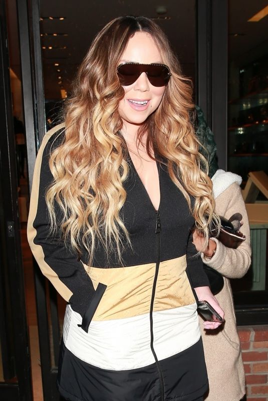 Mariah Carey and Bryan Tanaka step out together in Aspen