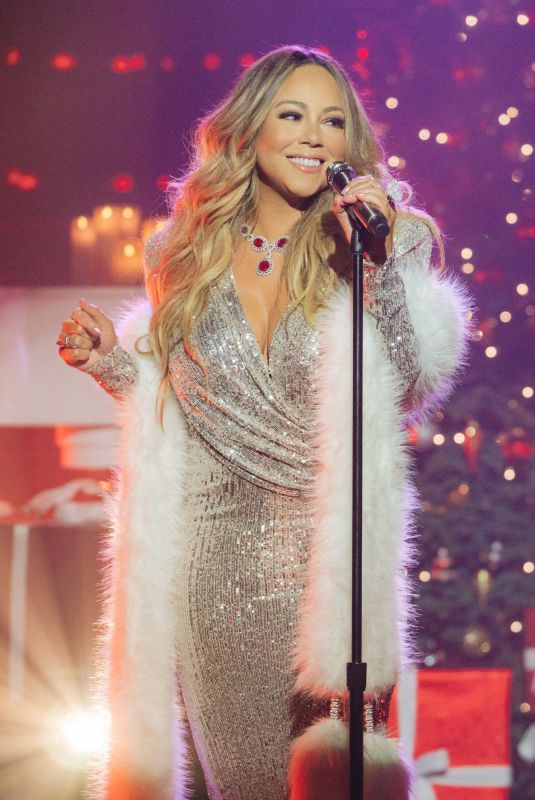 Mariah Carey At The Late Late Show with James Corden in Los Angeles
