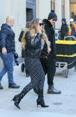 Mariah Carey Heads out in NYC