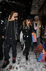Mariah Carey Out for shopping at the Louis Vuitton store in Aspen
