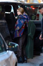 Mary Kate Olsen Spotted leaving her office in New York City
