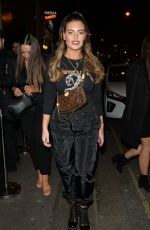 Megan Barton Hanson Leaving 100 Wardour street after a girly night out with pals