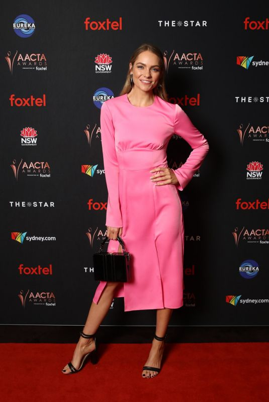 Melina Vidler At 2019 AACTA Awards - Industry Luncheon in Sydney