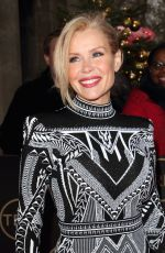 Melinda Messenger Arrives at the TRIC Christmas Charity Lunch at the Grosvenor House Hotel in London